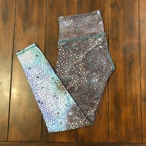 teeki Pants - TEEKI Mermaid Fairyqueen Teal Hot Pants Leggings